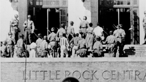 Integration of the Little Rock Nine