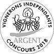 VIGNERONS INDEPENDANTS ARGENT 2018.jpg