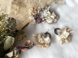 SAKIAMI corsage harmorie antique & woodr