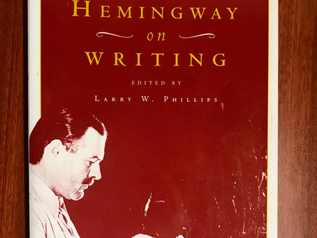 On Writing: Hemingway