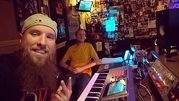 Mike Hitt with a Music Artist at MCM Sudios Pittsburgh Recording Studio