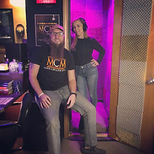 Pittsburgh Music Producer Mike Hitt with Spanish Female Singer