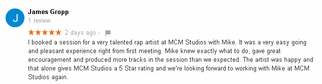 MCM Recording Studio Review