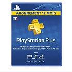 Abonnement Playstation Plus - 12 Mois