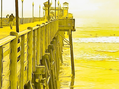 Rw's Oceanside Pier N Techni-Color