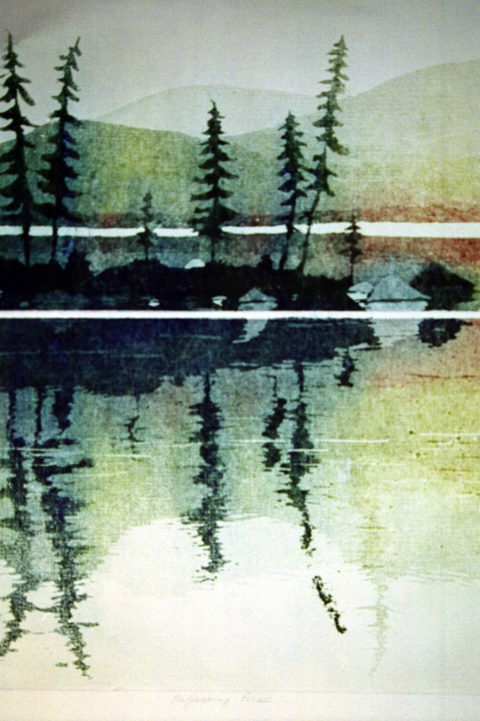 Reflecting Pines
