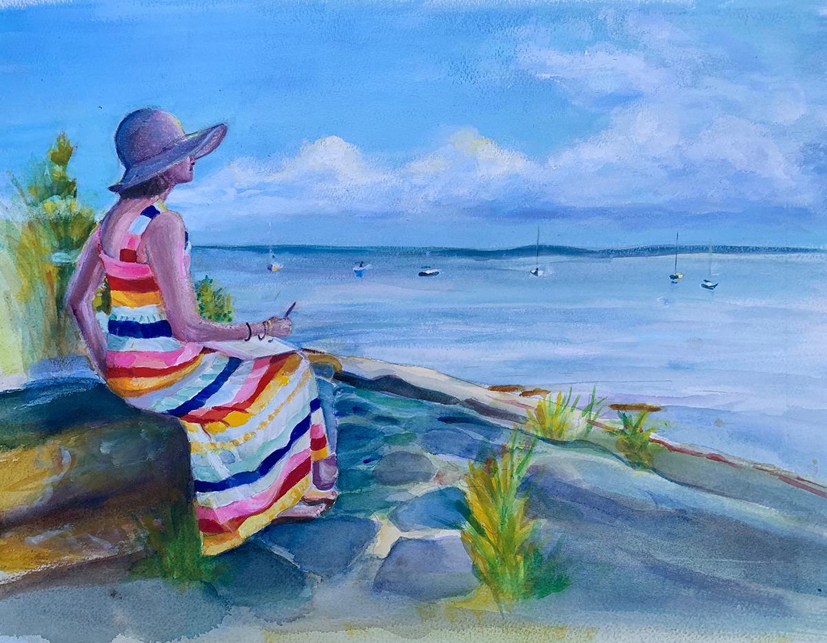 Artist Painting Artist