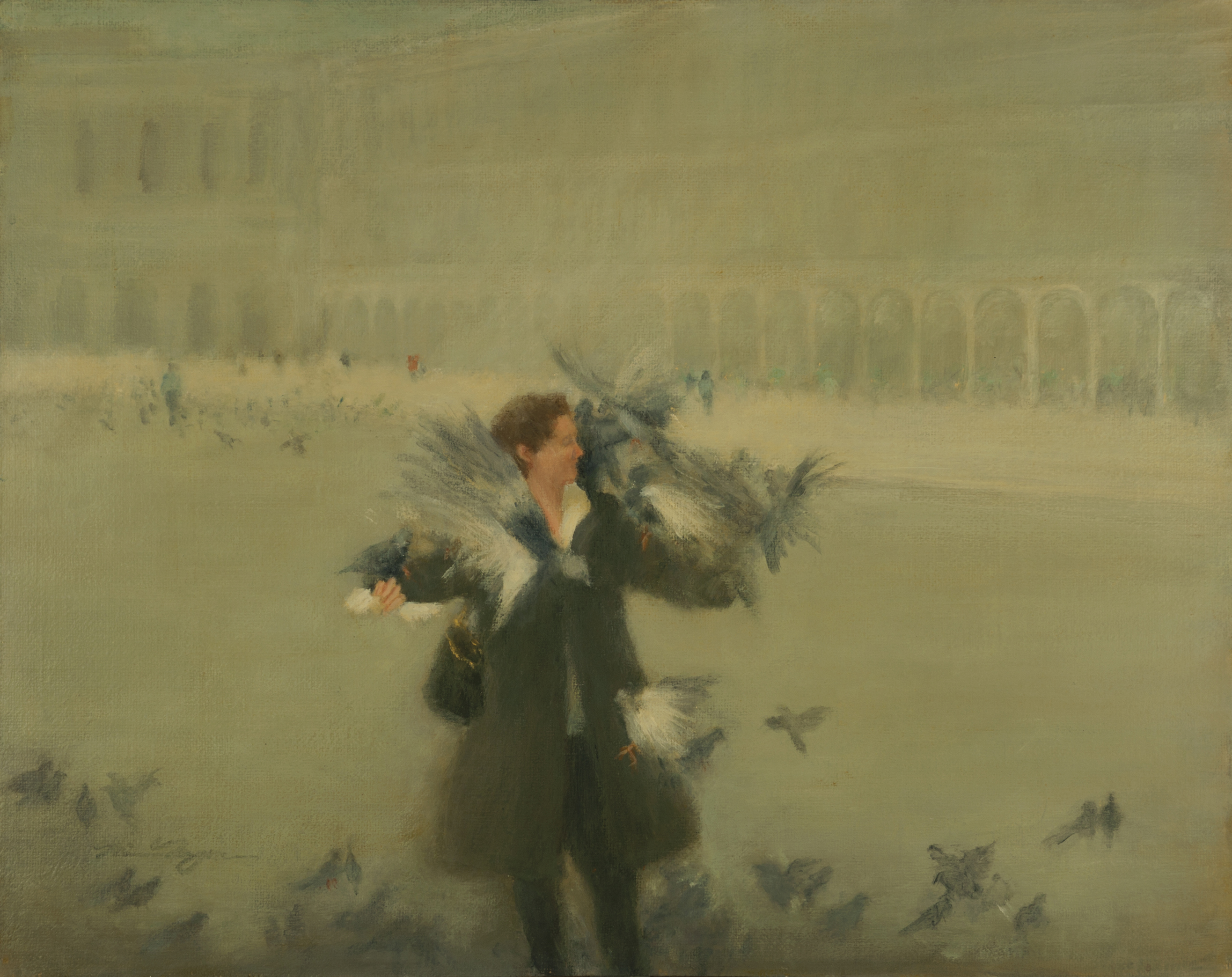 Piazza San Marco, The Bird Lady