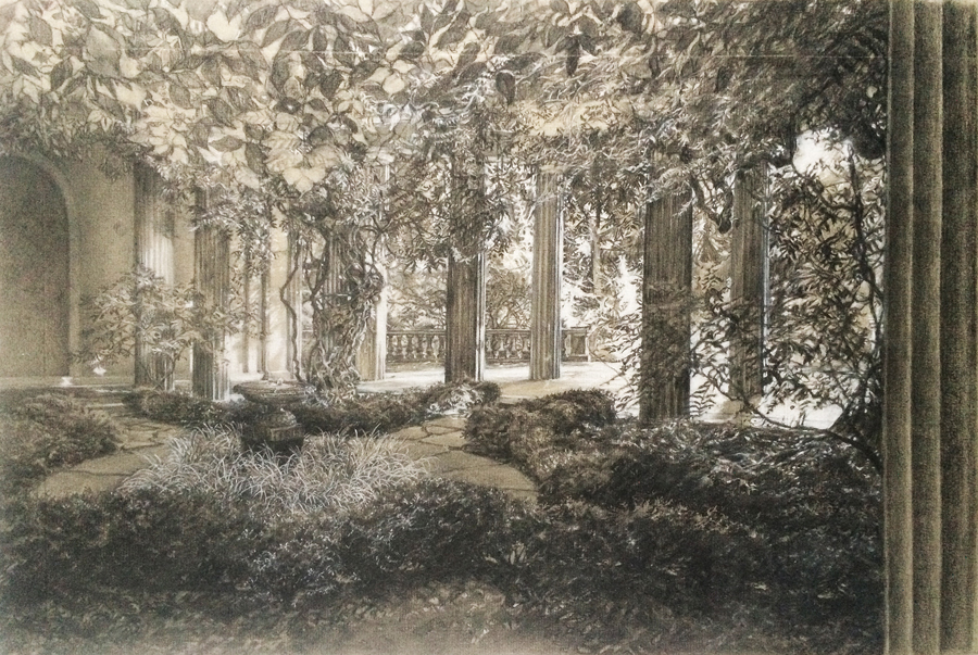 Van Vlecks Wisteria Courtyard