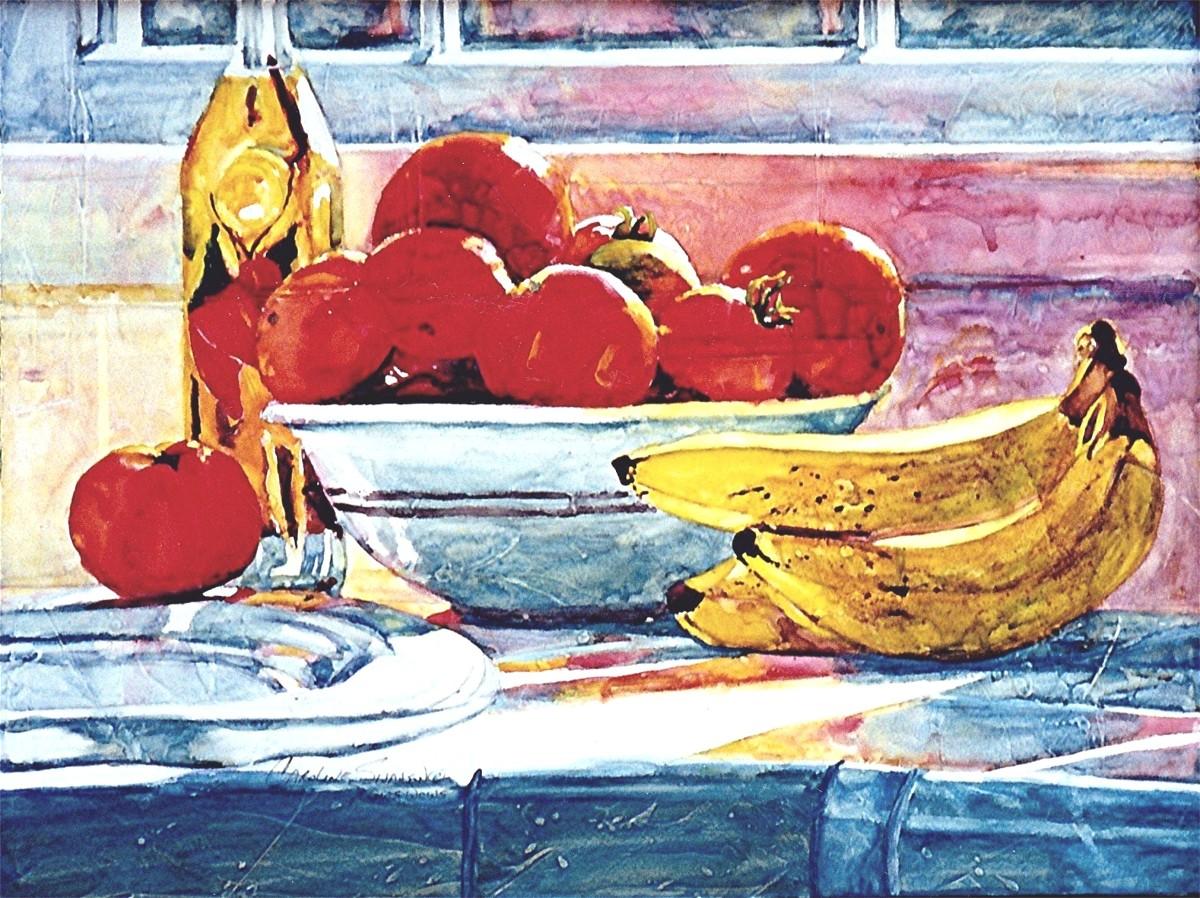 Sunlit Bananas