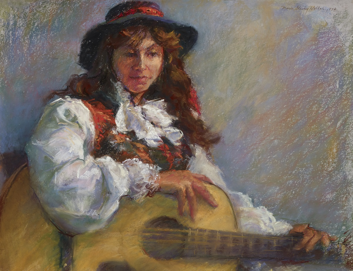 Shadia With Guitar