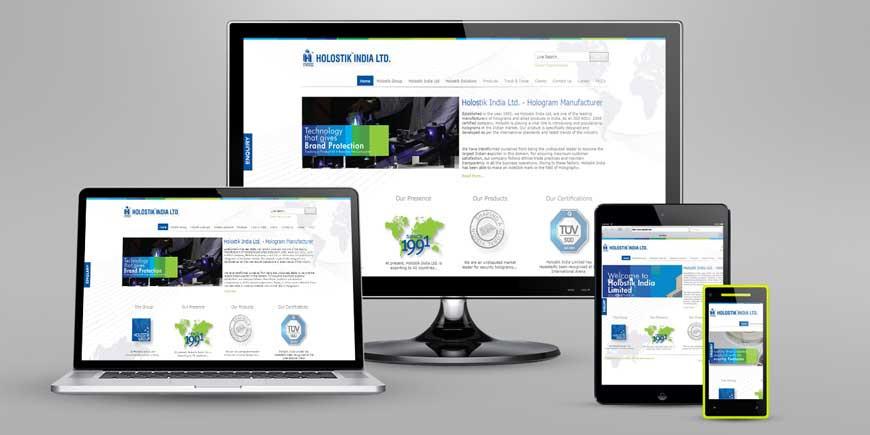 Responsive Website Designing by Trojan Design