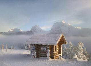 Winter im Gantrisch Trail Gebiet