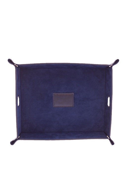 Collapsible Blue Catch All Tray
