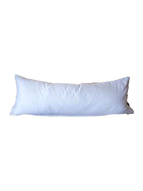 Organza/Charmeuse Lumbar Pillow