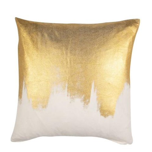 Pair of Gold Foil Susan Pillows