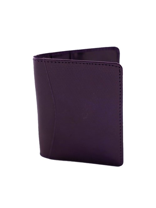 Purple Leather Business or CC Holder