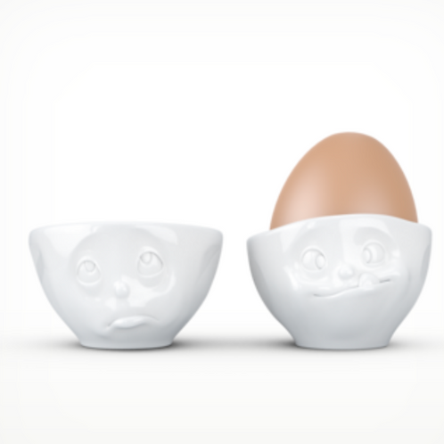 """""""Oh Please & Tasty"""" Egg Cup"""