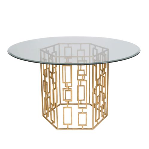 "Jackson Gold Leaf 54"" Table"
