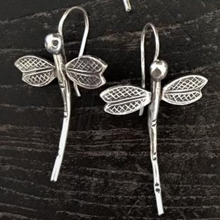 Medium Dragonfly Earrings