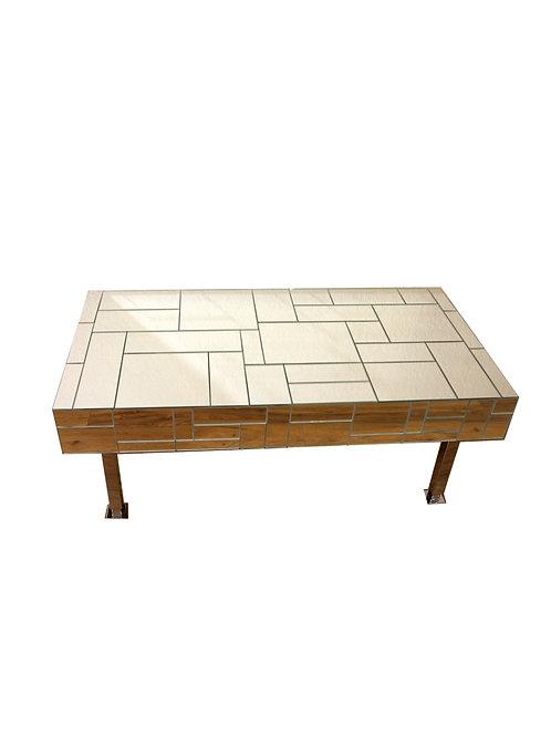 Mondrian Mirrored Coffee Table