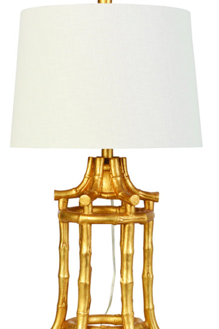 "29"" Bamboo Table Lamp"