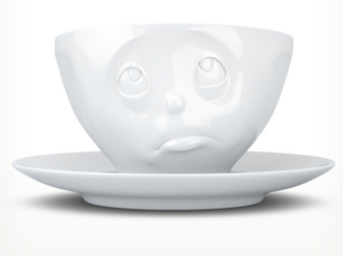 """""""Oh Please"""" White Coffee Cup"""