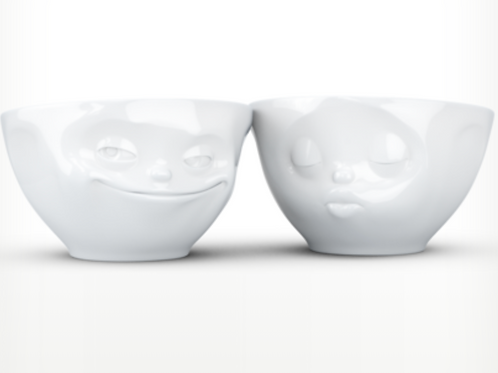 """Kissing & Grinning"" Bowls 100ml"