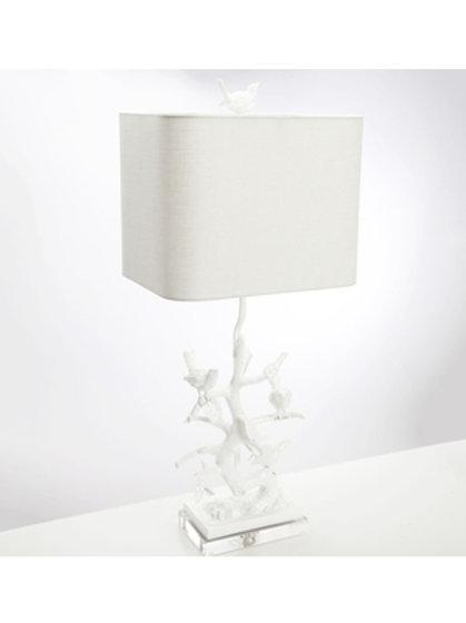 "29.5"" Bird On Branch Table Lamp"