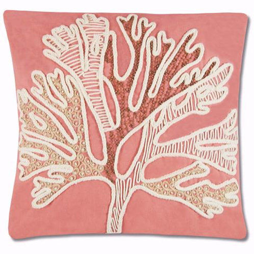 Pair of Christa Coral Pillows