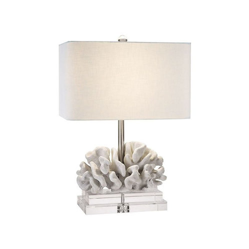 "22"" Elkhorn Coral Table Lamp"