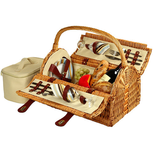 Sussex Picnic Basket for 2