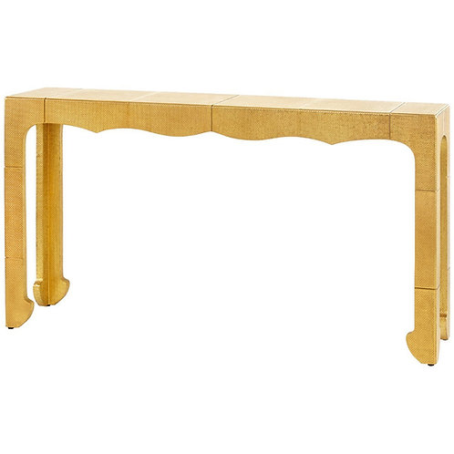 Jaques Console Table - Antique Brass