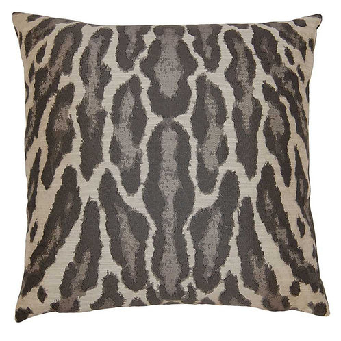 Pair of Square Feathers Saigon Graphite Pillows
