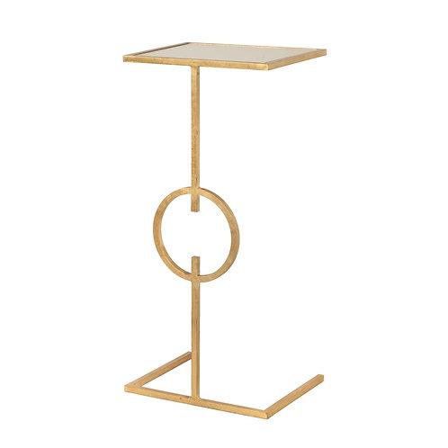Georgia Gold or Silver Leaf Side Table