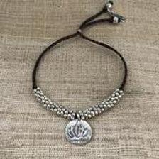 Lotus & Om Bracelet