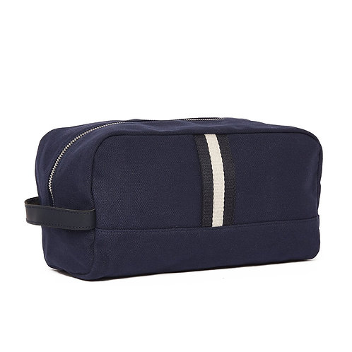 Navy Kennedy Toiletry Bag