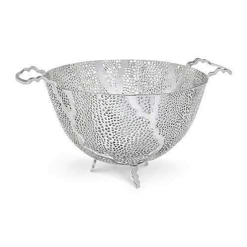 Espera Nickel Sea Fan Fruit Bowl