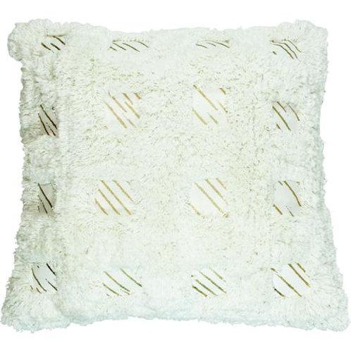 Pair of Gold Foil Beau Pillows