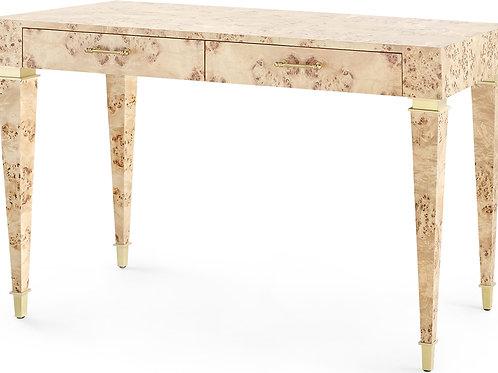 Helena Burl Wood Desk
