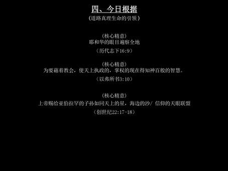 《上帝的指纹与今日》第30辑 讲义5/8