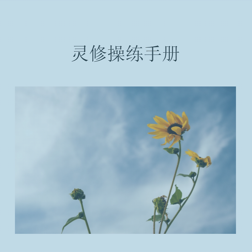 《灵修操练手册》-授权免费下载 Free download: A Handbook for Devotion