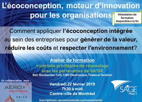 Ecodesign, a Driver of Innovation for Organizations [French Event]