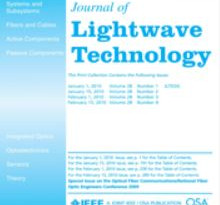 SA²GE Quoted in the Journal of Lightware Technology