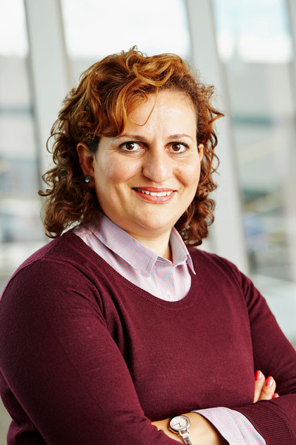 Kahina Oudjehani, Chair of the Environmental Gains Committee of the Coalition for Greener Aircraft and Head of Bombardier's Eco-design Department