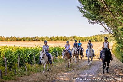 promenade-en-groupe-la-touraine-a-cheval