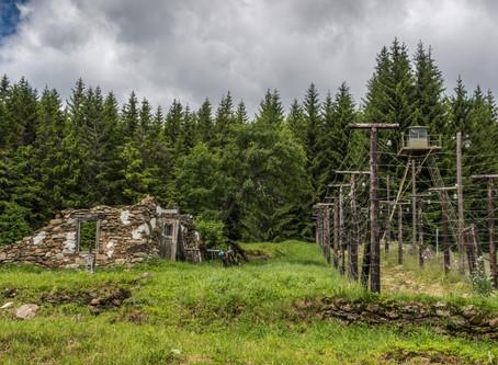 Poválečná historie Šumavy - Bučina a železná opona
