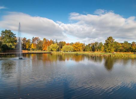 Podzimní Stromovka a Trojský zámek