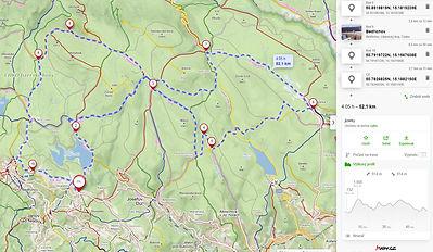 Jizerské hory na kole - deset zajímavých míst