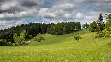 Od rozcestí Čarták do Horní Bečvy